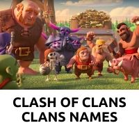 Clash of Clans clan names